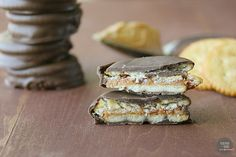Peanut Butter and Jelly Cracker Cookies recipe