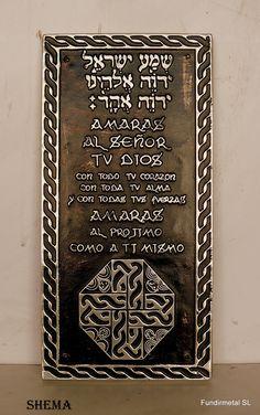 Icono  aluminio shema de pared  www.articulos-religiosos.es