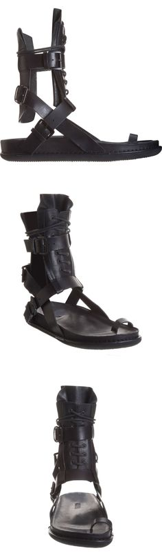 Ann Demeulemeester Tall Gladiator Sandal- why do i love the 1500 pair of gladiators??? Not the 15.00 pair….ha ha