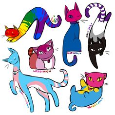 I love cats hehe 3 prideflag lgbtq gay lesbian pansexual asexual bisexual transgender cats lgbtqaccount admin colorful art Pansexual Pride, Lgbt Memes, Gay Aesthetic, Lesbian Pride, Lgbt Pride Quotes, Lgbt Community, Gay Art, Wife Quotes, Friend Quotes