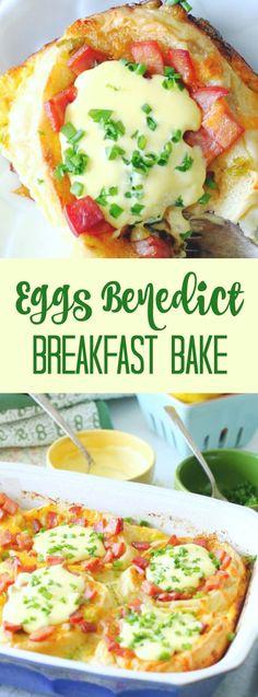 Eggs Benedict Breakfast Bake
