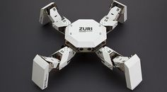 ZURI 01 Paperbot System is a programmable, modular robotics platform created by Germany company Zoobotics that users build with cardboard and paper. The smartphone-controlled DIY robot is currently. Robot Kits, Diy Robot, Arte Robot, Paper Robot, Cardboard Robot, Conception Robot, Drones, Programmable Robot, Quad