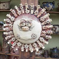 Air Dry Clay, Decorative Plates, Clays, Faces, Atelier, Air Drying Clay