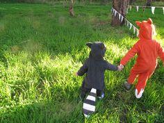 Halloween Handmade  Fox  Baby Costume by ThumbelinaWorkshop, $55.00. too cute for words!