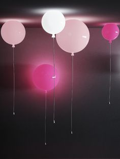 The Czech design at London Design Week: all the novelties of 2012 #light #balloon #pink