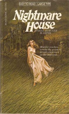 Retro Horror Art: Wandering Women in Nightgowns