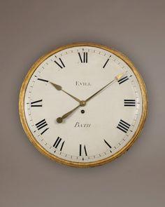 Antique Wall Clock | Evill, Bath, c. 1790 | Howard Walwyn Fine Antique Clocks