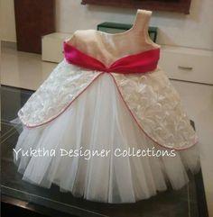 Baby Frocks Designs, Kids Frocks Design, Party Wear Frocks, Little Girl Dresses, Baby Dresses, Girls Frock Design, Baby Girl Fashion, Kids Fashion, Kids Wardrobe
