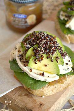 Sandwiches, Quinoa, Ideas Sándwich, Avocado Toast, Breakfast, Food, Meals, Avocado, Essen