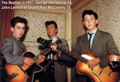 Rare and very interesting old Beatles' photo