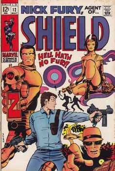 Nick Fury, Agent of SHIELD #12 - cover & interior art by Barry Smith