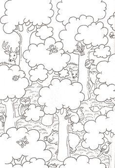 Dibujos del Medio Ambiente para Colorear, Naturaleza, Desastres ...