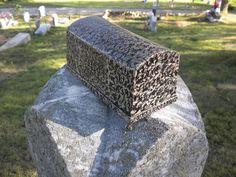 Rare Antique Salesmans Sample Burial Vault / by dustyatticantiques, $100.00 Burial Vaults, Casket, Vaulting, Rare Antique, Coffin, Old Things, Antiques, Amazing, Vintage