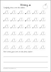 A set of basic worksheets where pupils trace and write lowercase letters from a-z in cursive script. English Cursive Letters, Cursive Handwriting Sheets, Cursive Letters Worksheet, Cursive Small Letters, Learn Handwriting, Letter Tracing Worksheets, Cursive Alphabet, Handwriting Analysis, Handwriting Worksheets