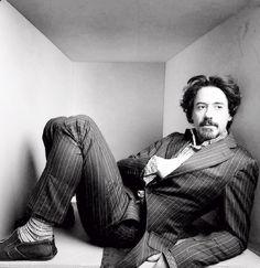 Robert Downey Jr. photo by Annie Leibovitz 2005