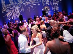 Dancing on the Belding Stage Photo by John Galayda/BlackRockWeddings.com