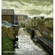"""""""From Great Barr St - Digbeth Lou Moore Canal Artist www.rcta.org.uk  @canaltraders"""