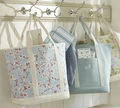 I love this floral tote.  Preppy and girly.