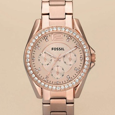 Fossil watch: rose gold :) love! One of my new Christmas presents :)