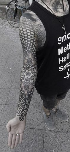 Beautiful Blackwork Sleeve by Kenji Alucky