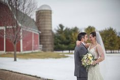 Perfect backdrop for a winter wedding. #winterwedding #C.Tysonphotography #The Pavilion