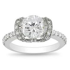 @Overstock - Clear cubic zirconia engagement-style ringSterling silver jewelryClick here for ring sizing guidehttp://www.overstock.com/Jewelry-Watches/Miadora-Sterling-Silver-Clear-Cubic-Zirconia-Engagement-style-Ring/5618310/product.html?CID=214117 $41.93