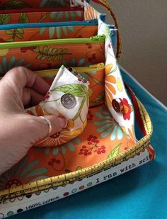 Sewing: Notions Fabric Dish for Bionic Gear Bag