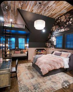 Room Design Bedroom, Girl Bedroom Designs, Room Ideas Bedroom, Home Room Design, Bedroom Styles, Bedroom Decor, Teen Bedroom, Master Bedroom, Outdoor Bedroom