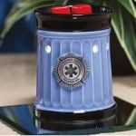 This Hero Scentsy warmer displays the EMT emblem on a light  blue finish making it the perfect Scentsy gift for a  friend, partner, or relative who is working as a Emergency Medical Technician. Scentsy Warmers Hero Collection: $35.00