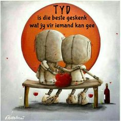 Tyd is die beste geskenk wat jy vir iemand kan gee Artwork Images, Voodoo Dolls, Gothic Art, Heart Art, Cartoon Drawings, Cute Art, Art Boards, Sculpture Art, Art For Kids