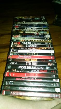PRICE REDUCTION!! horror lot dvds (29) several multi-movie packs | DVDs & Movies, Wholesale Lots, DVDs & Blu-ray Discs | eBay!