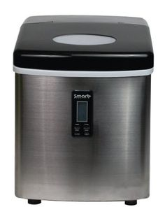 Smart+ Products SPP15AIM Portable Stainless Steel Ice Maker - http://goshoppins.com/appliances/ice-makers/smart-products-spp15aim-portable-stainless-steel-ice-maker/ -    Smart+ Products SPP15AIM Portable Stainless Steel Ice Maker Customer Reviews  Price: $ 199.97     Well insulated storage compartment (however, not a freezer) Portable Compact Size – under 15″ height is ideal for countertop or wet bar use Fast Ice Production – Have ice... -