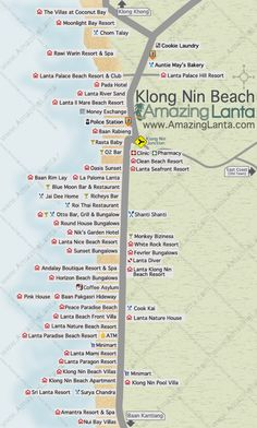 Klong Nin Beach Koh Lanta - Amazing Lanta