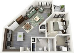 Uniquely-Shaped-1-Bedroom-Apartment-600x435