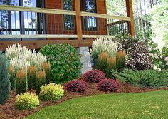 Landscaping - Hayward Wisconsin Greenhouse and Garden Center Wisconsin Landscaping Ideas, Landscaping Around Patio, Privacy Landscaping, Landscaping With Rocks, Landscaping Plants, Landscape Plans, House Landscape, Landscape Designs, Winter Greenhouse