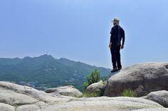 등산 :  삼성산  돌산국기봉에서