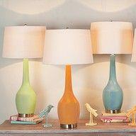 Love these retro lamps