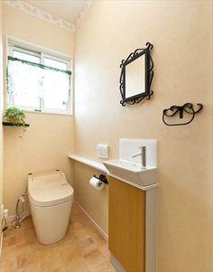 インテリアがお洒落なトイレ