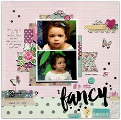 "GrandDiva's Creative Corner: The ScrapRoom August Double Shot Kit ~ Simple Stories ""So Fancy"""