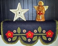 Shelf Scarf - Flowers and Pennies