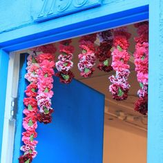 A great way to welcome your guest. #welcome #garlands #indianwedding @alterspace