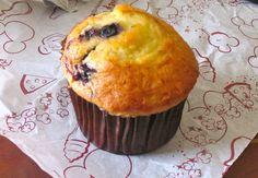 Blueberry Muffins Recipe served at Boardwalk Bakery in Boardwalk Resort at Disney World