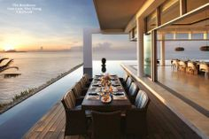 'Postcard perfect' 180 degree uninterrupted views. Add to this a fully stocked wine cellar, 12 seat cinema, gym, spa, two studies and a dedicated children's play area to make The Residence (Cam Lam, Nha Trang, VIETNAM) amongst the best of #holiday destinations in the whole of South East Asia.