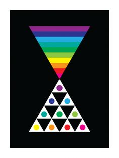 Triangoli Vistosi #2 (Art Print, 2009)