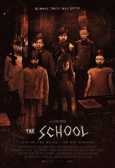 Take a look to this brand new poster of The School, the upcoming supernatural thriller movie directed by Storm Ashwood: Best Horror Movies, Classic Horror Movies, Horror Show, Terror Movies, Creepy Movies, Night Film, Bon Film, Horror Movie Posters, Film Posters