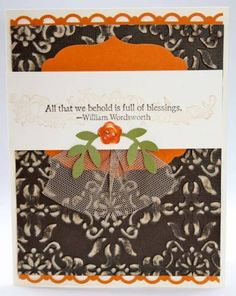 Full of Blessings Core'dinations by Kimrothstamps - Cards and Paper Crafts at Splitcoaststampers