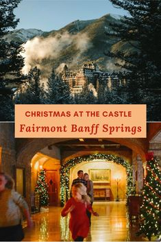 Christmas at the Castle in the Rockies really is the stuff dreams are made of. From sleigh rides to gliding across a frozen alpine lake, the holiday season shines brightly in Banff, Canada. #Banff #BanffCanada #BanffNationalPark #Christmas #BanffCanadaWinter #BanffThingsToDoWinter #BanffSpringsHotel #BanffSprings #ChristmasTravel #CanadaWinter Christmas Getaways, Christmas Travel, Holiday Travel, Christmas Vacation, Christmas Events, Christmas Town, Magical Christmas, Fairmont Banff Springs, Sleigh Rides
