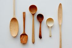 Wooden spoons hand-carved by author Joshua Vogel