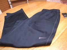 Men's Nike training pants NWT XL navy 379431 fitness therma fit stay warm NEW