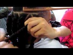 Marley Twists Havana Twists Rubberband Method - YouTube